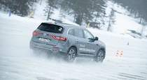 Режем ладожский лед  когтями  полноприводных Renault