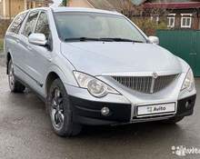 SsangYong Actyon Sports: 2011 Luxury 2.0d AT 4×4 пикап Пермь 2л 458000 Р