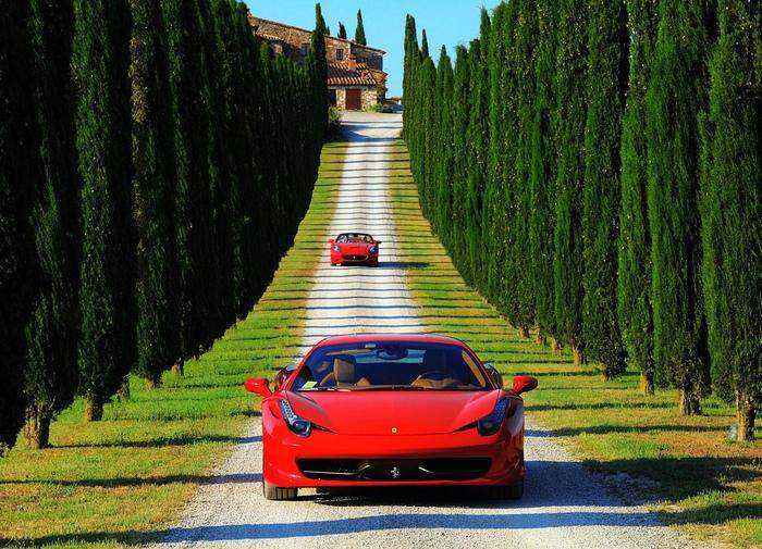 Auto in Tuscany Rent