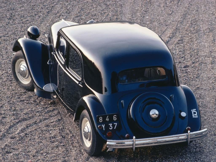 Citroen Traction Avant: не такой, как все Citroen