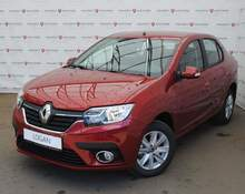 Renault Logan: 2018 Life 1.6 AT седан Москва 1.6л 800970 Р