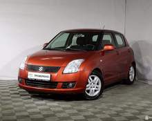 Suzuki Swift: 2008 GLX 1.3 MT 4×4 хэтчбек Санкт-Петербург 1.3л 287000 Р
