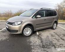 Volkswagen Touran: 2014 Highline 1.4 MT минивэн Уфа 1.4л 700000 Р