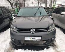 Volkswagen Touran: 2014 Highline 1.4 MT минивэн Серов 1.4л 680000 Р