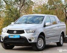 SsangYong Actyon Sports: 2012 Welcome 2.3 MT 4x4 пикап Самара 2л 585000 Р