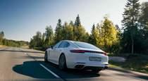 Тест драйв Porsche Panamera E Hybrid с электричеством на подхвате