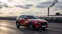 Тест драйв новой Mazda CX 30 выходит в Цвет