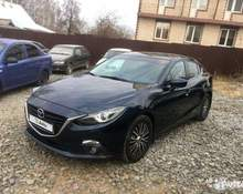 Mazda 3: 2015 Active 1.5 AT седан Ижевск 1.5л 790000 Р