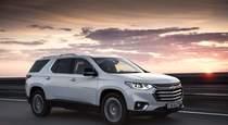 Тест драйв Chevrolet Traverse  право сильных