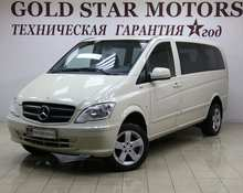 Mercedes Vito: 2011 3.5 AT минивэн Москва 2.1л 1188000 Р
