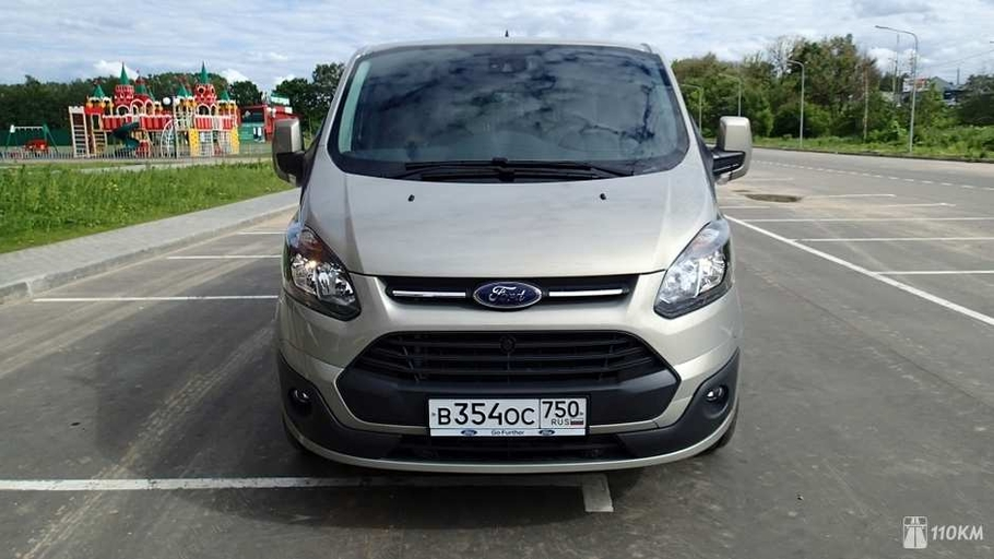 Тест-драйв Ford Tourneo Custom: семейный ковчег