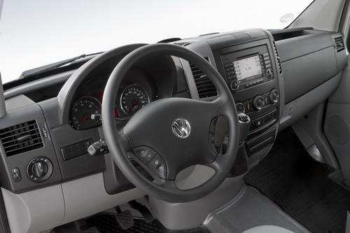 Vw Crafter Interior. Новый Volkswagen Crafter