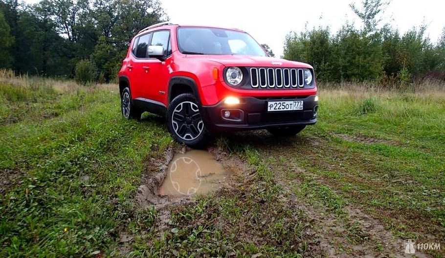 10 - Тест-драйв Jeep Renegade: игра с традициями