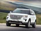 Обновленный Ford Explorer: вырываясь из горного плена…
