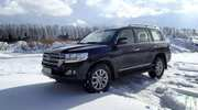 Тест-драйв Toyota Land Cruiser 200: статус и могущество