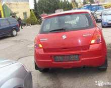 Suzuki Swift: 2008 GLX 1.3 MT 4×4 хэтчбек Санкт-Петербург 1.3л 155000 Р