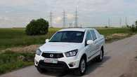 Тест-драйв Ssang Yong Actyon Sports: сначала - работа SsangYong Actyon Sports