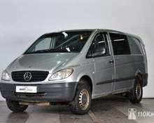 Mercedes Vito: 2008 2.1 AT минивэн Владимир 2.1л 688000 Р