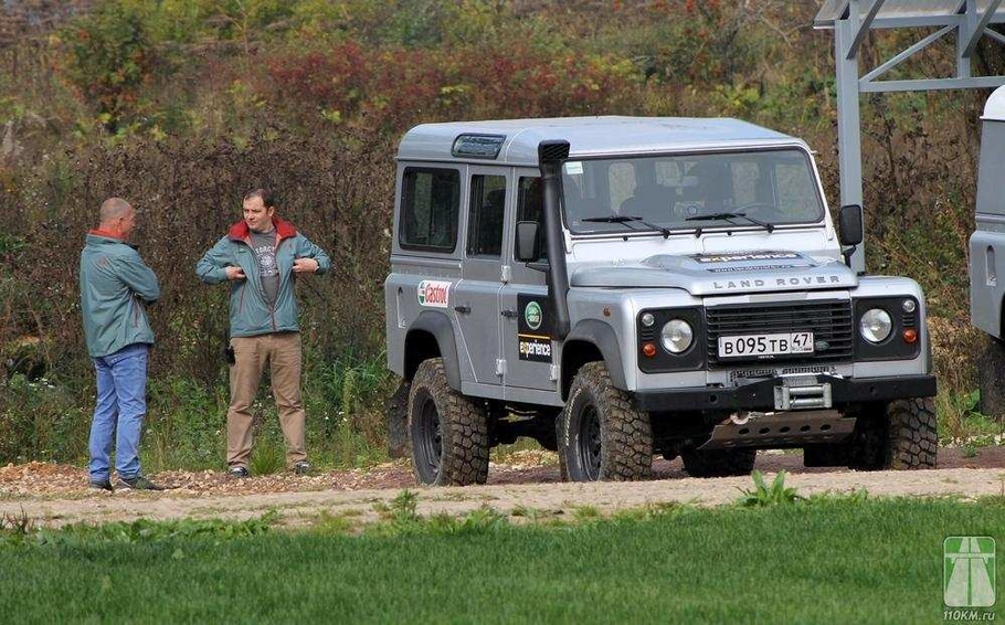 Тест-драйв Land Rover Defender: бог внедорожья Land Rover Defender