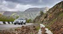 Обновленный Ford Explorer  вырываясь из горного плена