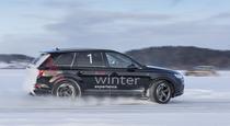 Управляем ледяным скольжением на Audi Q7 3 0 TDI