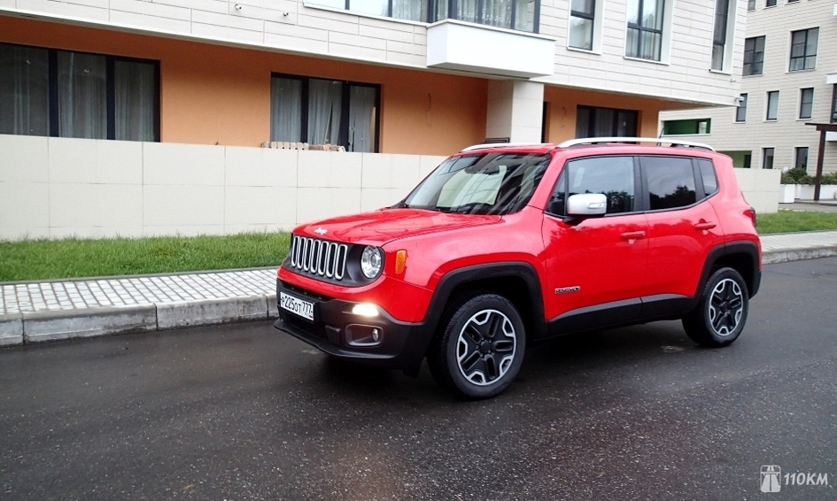 1 - Тест-драйв Jeep Renegade: игра с традициями