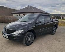 SsangYong Actyon Sports: 2007 Original 2.0d MT 4×4 пикап Кунгур 2л 395000 Р