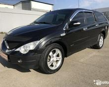 SsangYong Actyon Sports: 2008 Luxury 2.0d AT 4×4 пикап Аксай 2л 420000 Р
