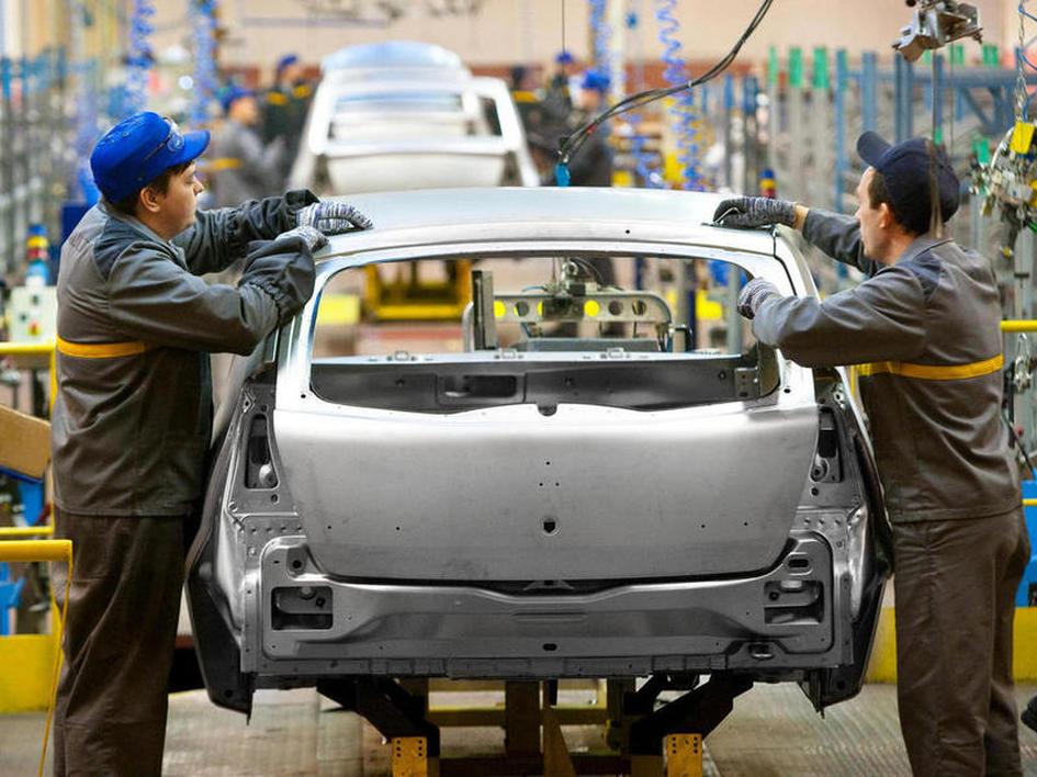 Выпуск легковых авто вРФ вянваре-сентябре упал на11,8%