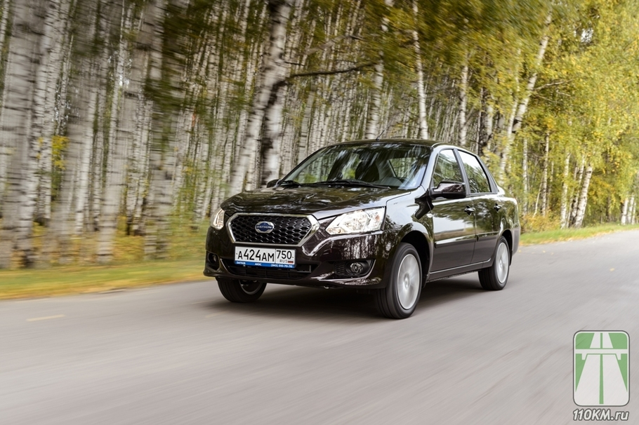 Тест драйв Datsun on DO  японский тюнинг