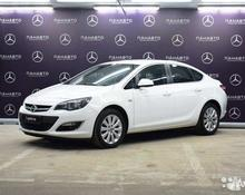 Opel Astra: 2015 1.6 AT седан Москва 1.6л 698000 Р