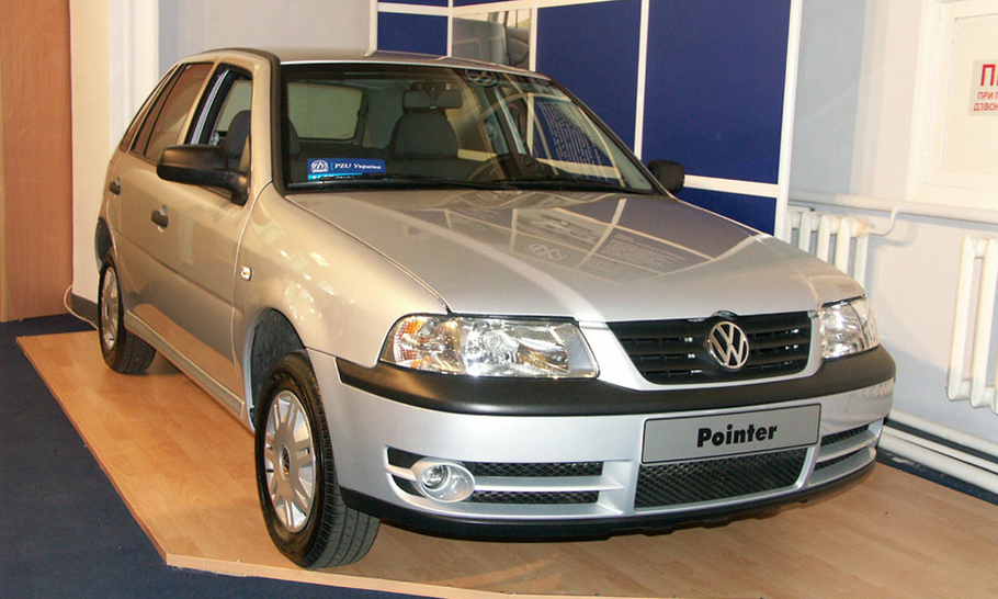 Секонд тест Volkswagen Pointer  малый ход