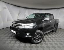 Toyota Hilux: 2015 Exclusive Black 2.8d AT 4x4 пикап Москва 2.8л 1559000 Р