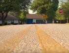 Дом в Техасе притягивает аварии