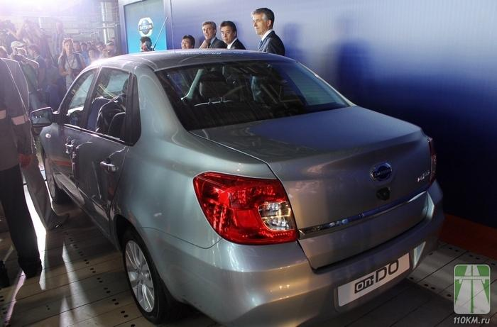 Datsun on-DO встал на конвейер «АвтоВАЗа»