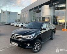 Toyota Hilux: 2016 Exclusive Black 2.8d AT 4x4 пикап Санкт-Петербург 2.8л 1969000 Р
